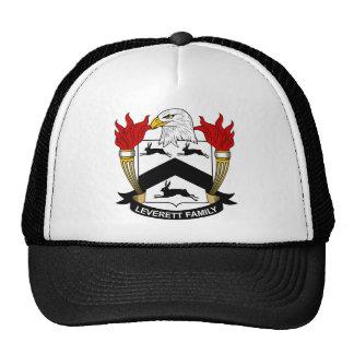 Leverett Family Crest Trucker Hat