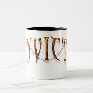Leve's Convicted Two-Tone Coffee Mug