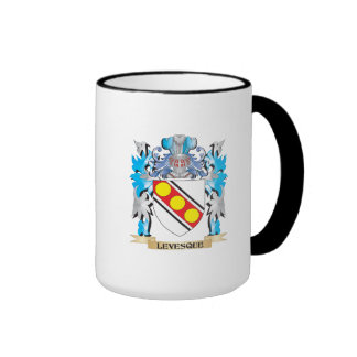 Levesque Coat of Arms - Family Crest Ringer Coffee Mug