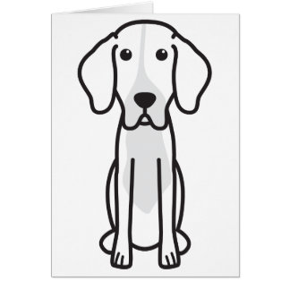Levesque Dog Cartoon Stationery Note Card