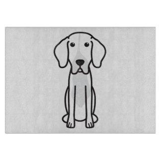 Levesque Dog Cartoon Cutting Board