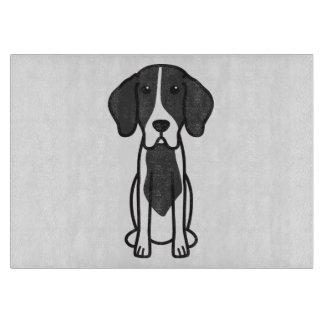 Levesque Dog Cartoon Cutting Boards