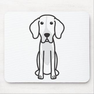 Levesque Dog Cartoon Mouse Pad