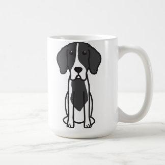 Levesque Dog Cartoon Classic White Coffee Mug