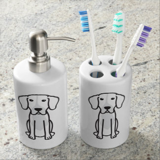 Levesque Dog Cartoon Toothbrush Holder