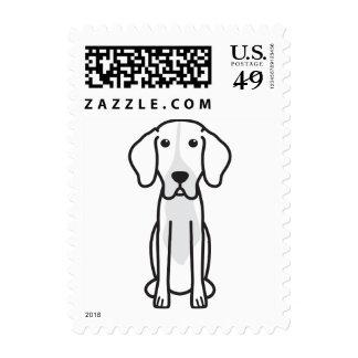 Levesque Dog Cartoon Stamps