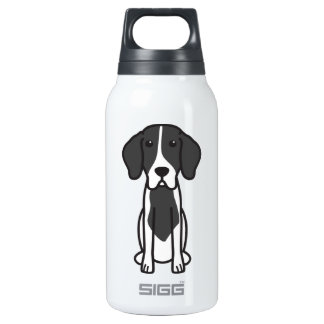 Levesque Dog Cartoon 10 Oz Insulated SIGG Thermos Water Bottle