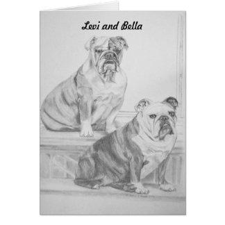 Levi and Bella Card