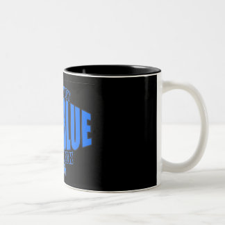Levi Blue Belt Logo Mug