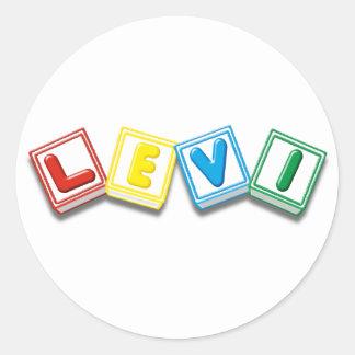 Levi Classic Round Sticker
