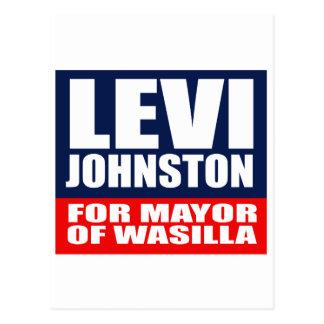 LEVI JOHNSTON PARA ALCALDE OF WASILLA POSTAL