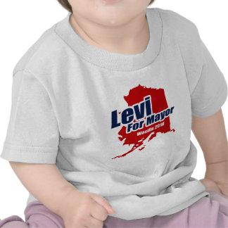 Levi para el alcalde de Wasilla 2010 Camiseta