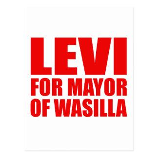 Levi para el alcalde de Wasilla Postales
