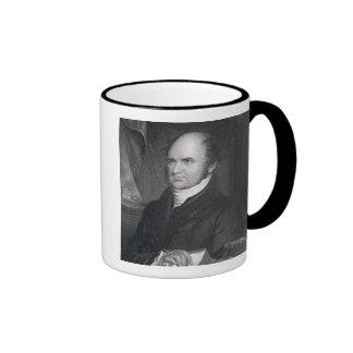 Levi Woodbury, engraved by Robert E. Whitechurch ( Ringer Mug