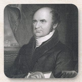 Levi Woodbury, grabado por Roberto E. Whitechurch  Posavasos De Bebidas