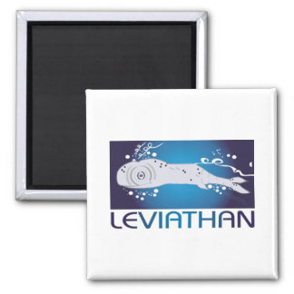 Leviathan 2 Inch Square Magnet