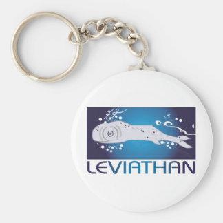 Leviathan Basic Round Button Keychain