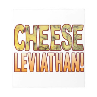 Leviathan Blue Cheese Notepad