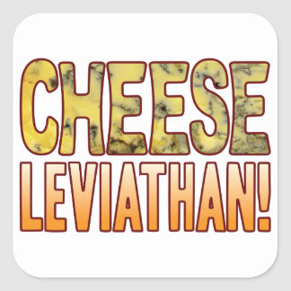 Leviathan Blue Cheese Square Sticker