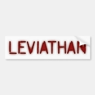 Leviathan Bumper Sticker
