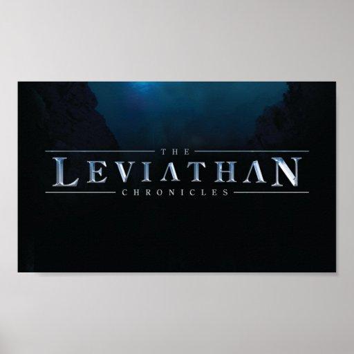 Leviathan Chronicles Logo Poster