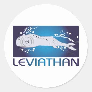 Leviathan Classic Round Sticker