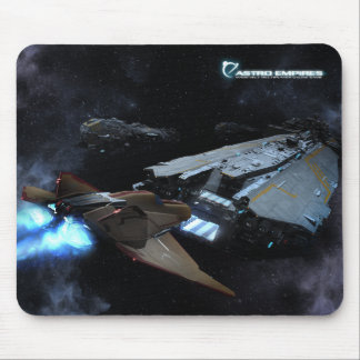 Leviathan & fighter mouse pad