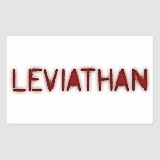 Leviathan Rectangular Sticker