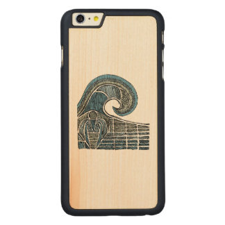 Leviathan Sketch - Color Carved® Maple iPhone 6 Plus Slim Case