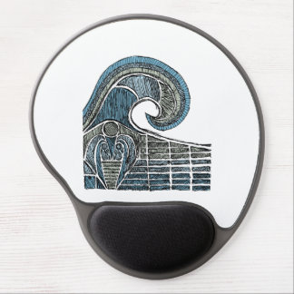 Leviathan Sketch - Color Gel Mouse Pad