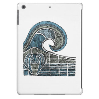 Leviathan Sketch - Color iPad Air Cases