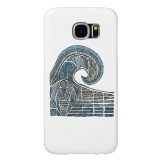 Leviathan Sketch - Color Samsung Galaxy S6 Cases