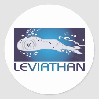 Leviathan Round Stickers
