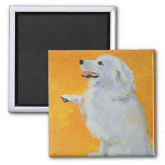 Levine's Bailey 2 Inch Square Magnet
