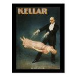 Levitación 2 de Kellar Postal