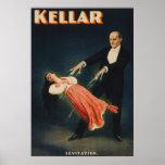 Levitación 3 de Kellar Posters