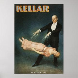 Levitación de Kellar Impresiones