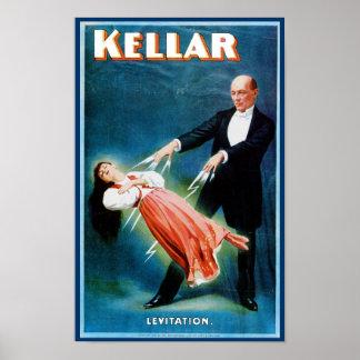 Levitación del ~ de Kellar Poster