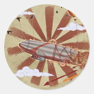 Levitation Classic Round Sticker