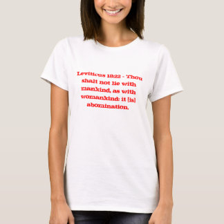 Leviticus 18:22 T-Shirt