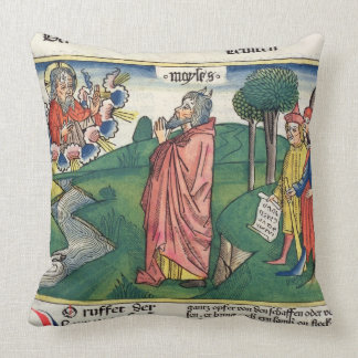 Leviticus 1 1-7 The Law of Offerings, from the 'Nu Throw Pillow