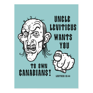 Leviticus 25:44 postcard