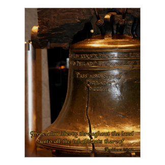 Leviticus Liberty Bell Print