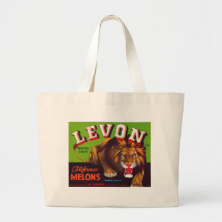 Levon California Melons Large Tote Bag