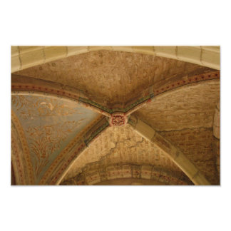 Levroux Church Ceiling Poster