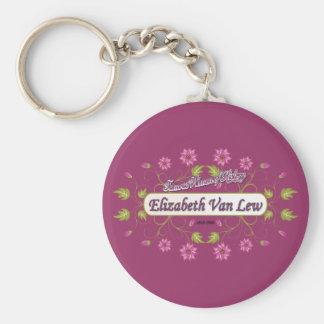 Lew ~ Elizabeth Van / Famous USA Women Keychain