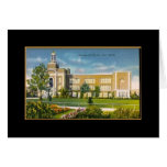 Lew Wallace School Gary IN (vintage) Greeting Card