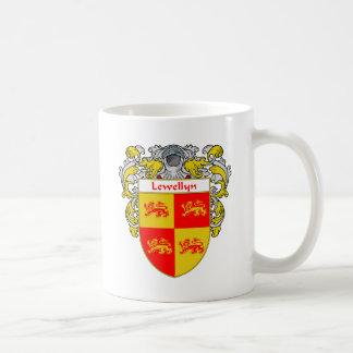Lewellyn Coat of Arms (Mantled) Coffee Mug