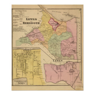 Lewes and Rehoboth Poster