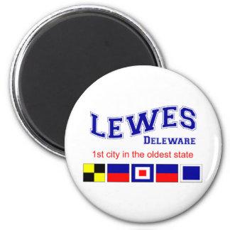 Lewes, DE 2 Inch Round Magnet